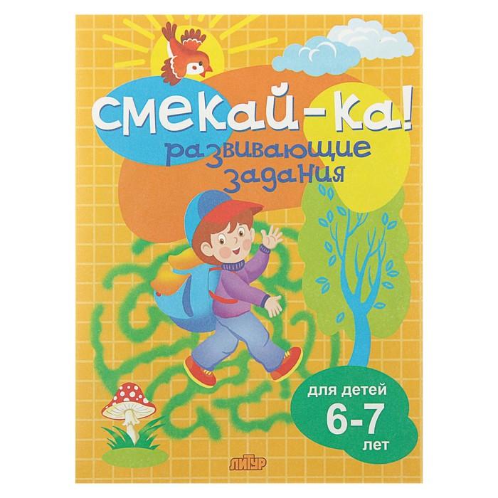 Развивающие задания для детей 6-7 лет. Бортникова Е. Ф.