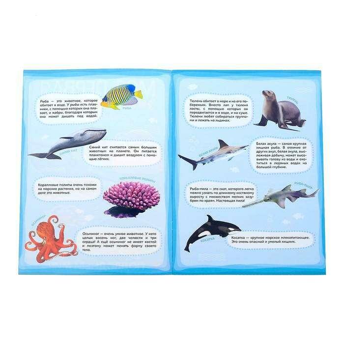Наклейки «Моя первая энциклопедия. Подводный мир»
