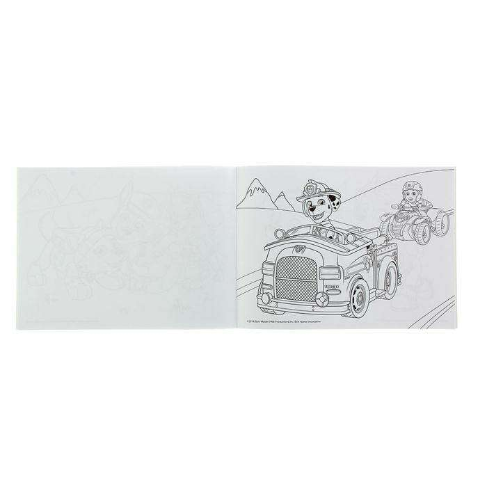 Альбом для рисования и раскрашивания «Щенячий патруль»