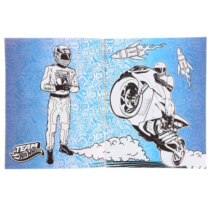 Раскрась супер-авто Hot wheels «Мотоциклы»