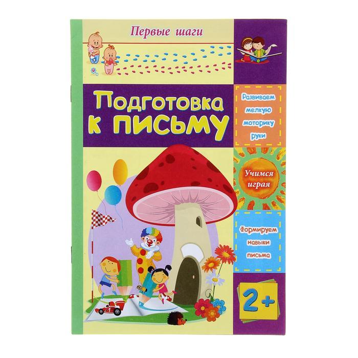 Подготовка к письму: сборник развивающих заданий для детей 2 лет и старше