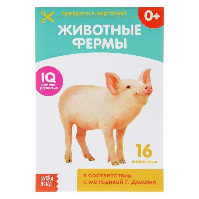 Обучающая книжка по методике Г. Домана «Животные фермы»