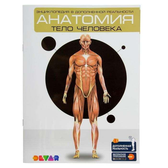 Энциклопедия 4D в дополненной реальности «Анатомия: тело человека» в дополненной реальности «Анатомия:тело человека» А4 мяг обл 00-0001281