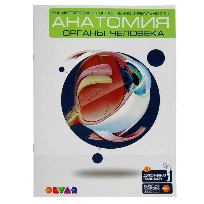 Энциклопедия 4D  в дополненной реальности «Анатомия:органы человека» А4 мяг обл 00-0001280
