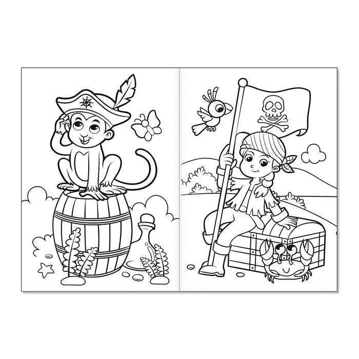 Раскраски для мальчиков набор «Мои любимые машинки», 8 шт.