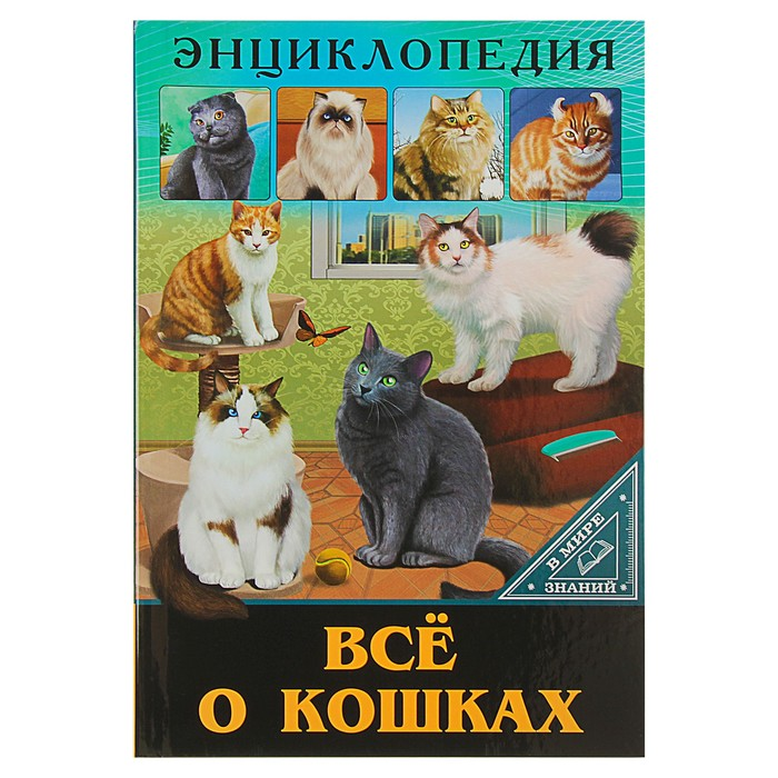 Энциклопедия « Всё о кошках»