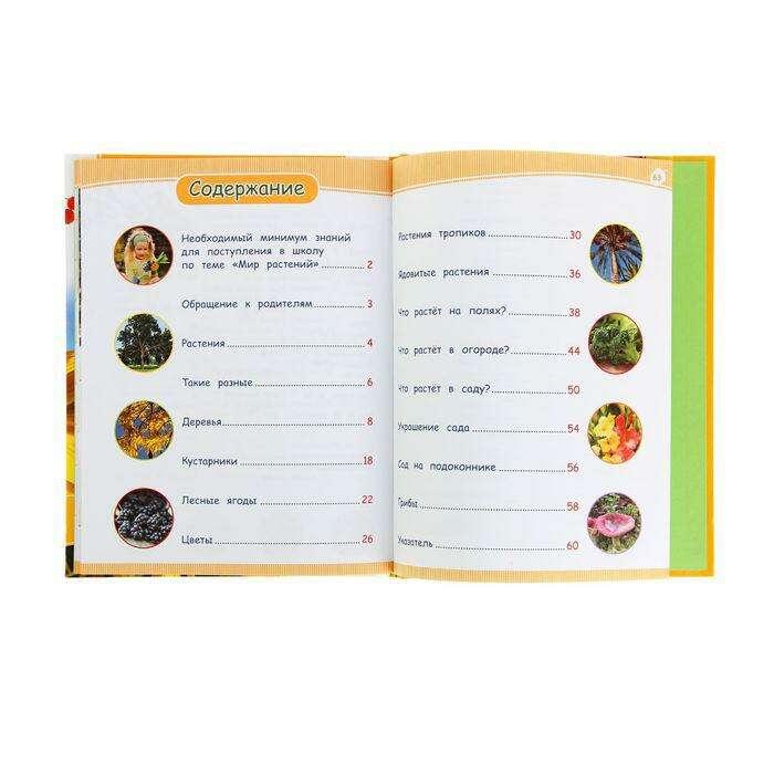 Энциклопедия дошкольника «Мир растений»