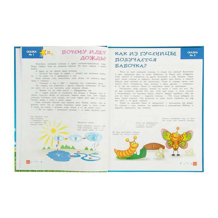 Энциклопедия для малышей в сказках «Всё, что ваш ребёнок должен узнать до школы», твёрдая обложка, Ульева Е. А.