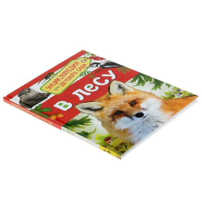 Энциклопедия для детского сада «В лесу»