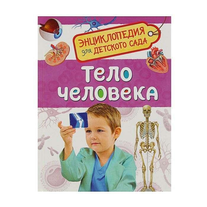 Энциклопедия для детского сада «Тело человека»