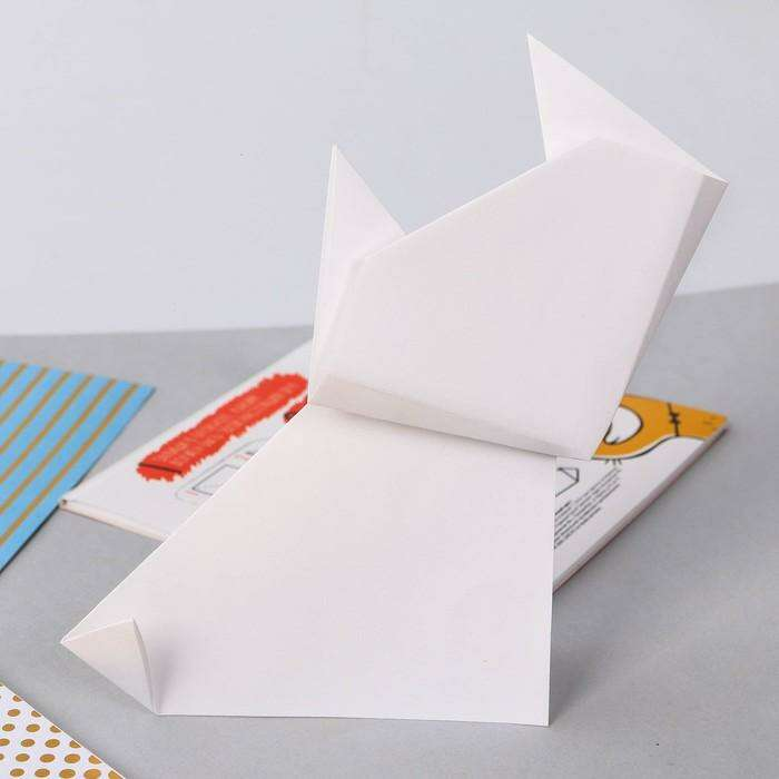 """Блокнот - оригами """"Настоящий друг"""""""
