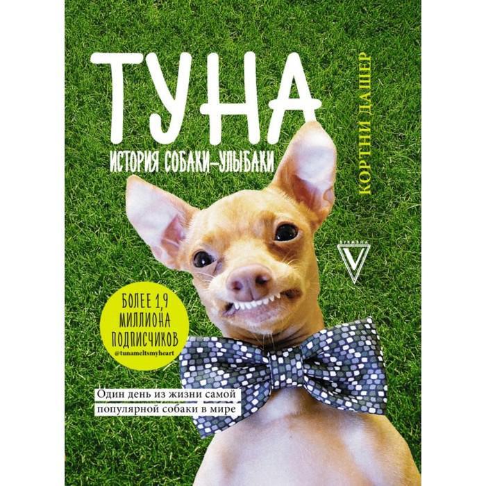 ЗвездаИнстаграма. Туна. История собаки-улыбаки. Дашер Кортни