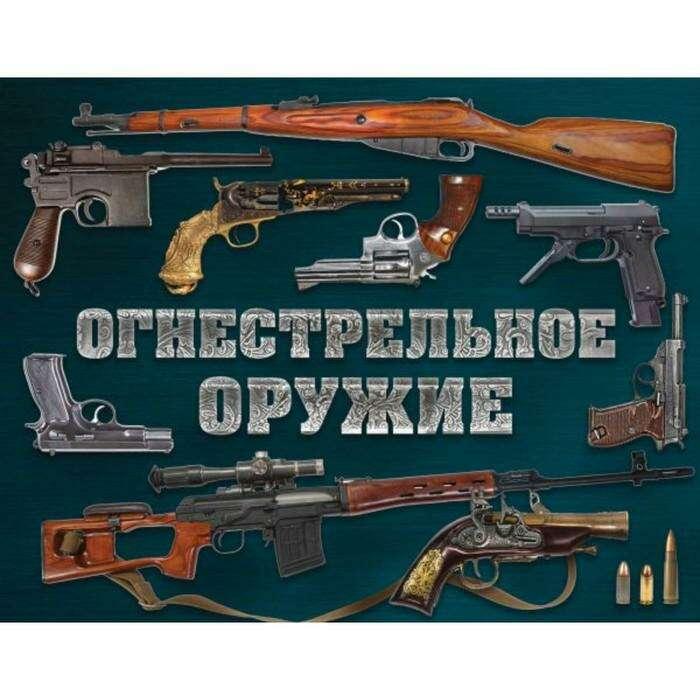 Огнестрельное оружие (альбомный формат). Алексеев Д.С.