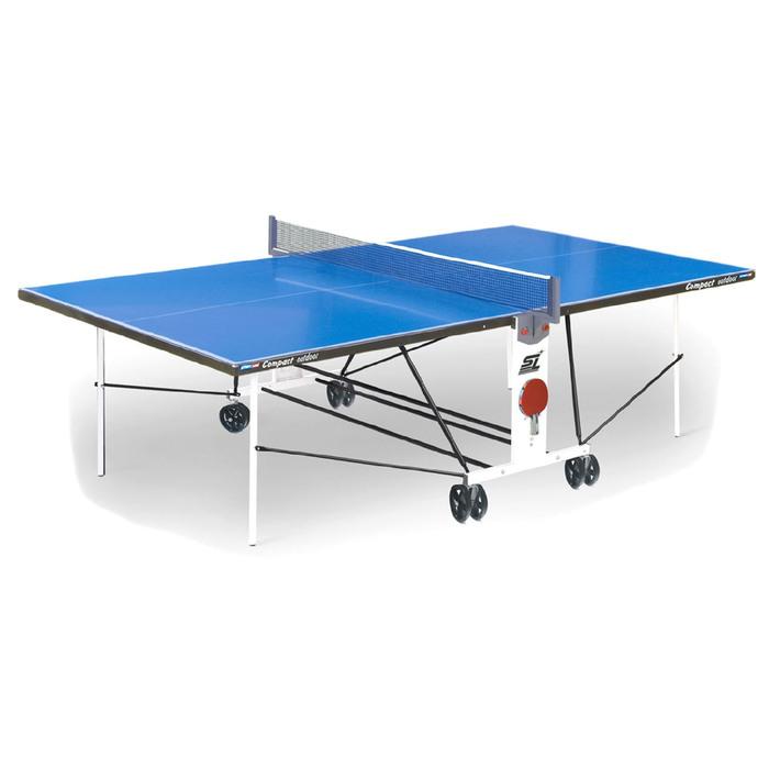 """Стол теннисный Start Line """"Compact Outdoor-2"""", всепогодный"""