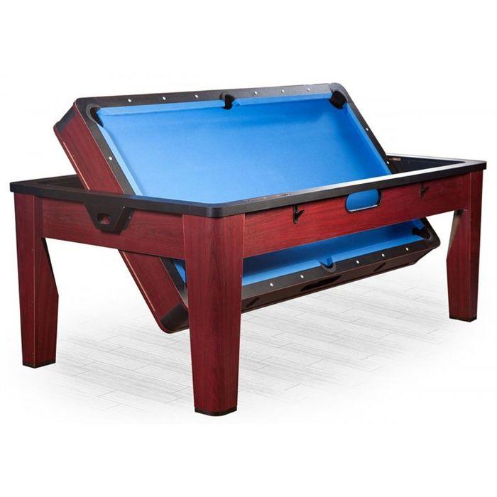 Многофункциональный игровой стол 6 в 1 Tornado, цвет коричневый