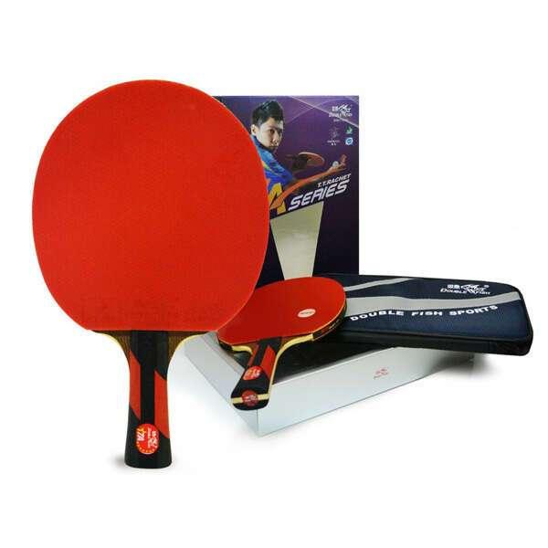Ракетка для настольного тенниса Double Fish 7А-С с чехлом