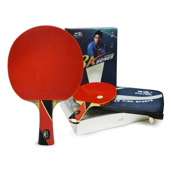 Ракетка для настольного тенниса Double Fish 8А-С с чехлом