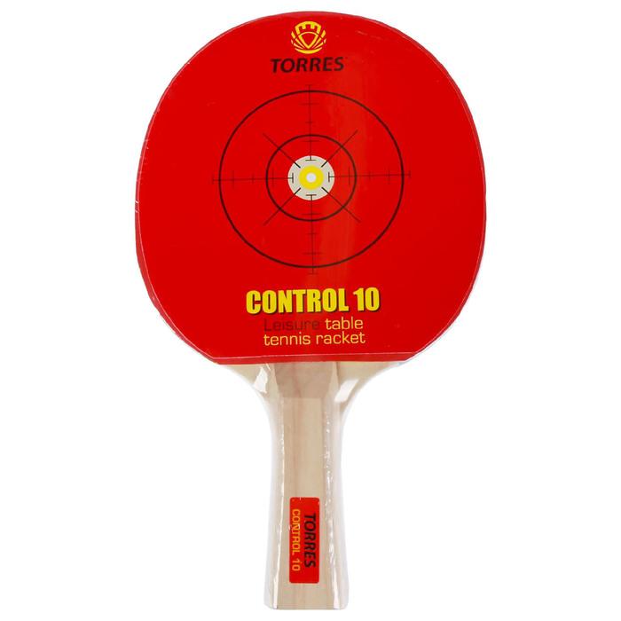 Ракетка для настольного тенниса Torres Control 10, для начинающих,