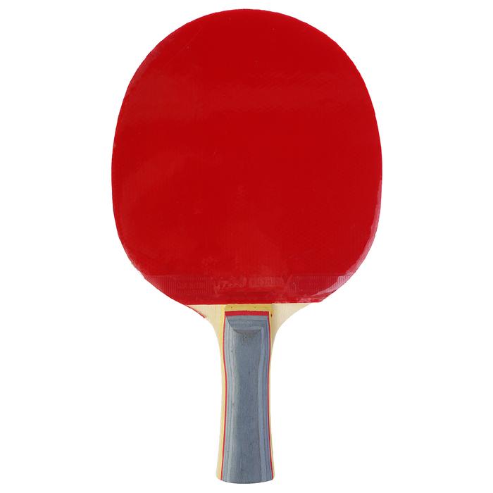 Ракетка для настольного тенниса BOSHIKA, 2 звезды, в чехле