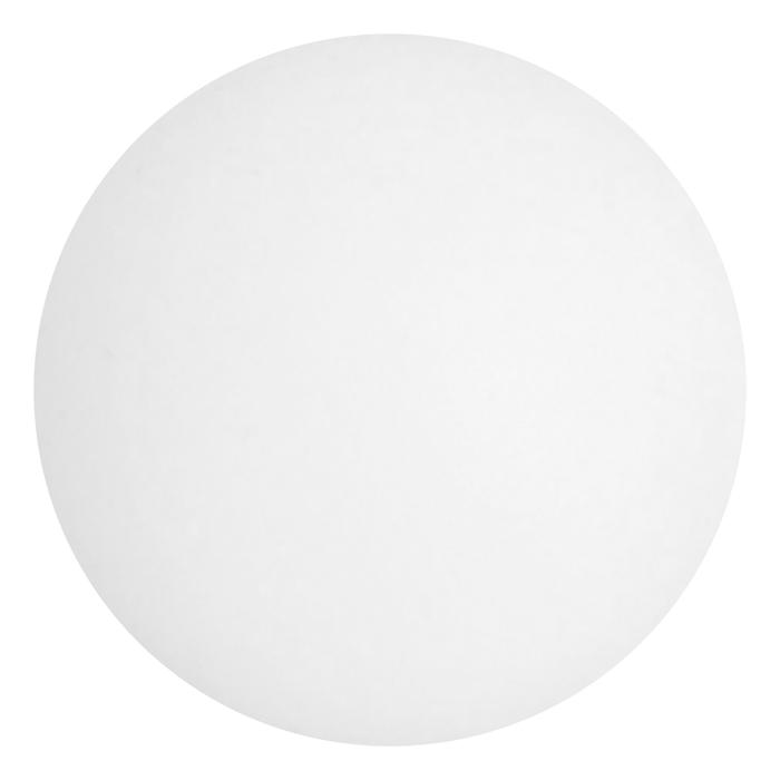Мяч для настольного тенниса, цвет белый