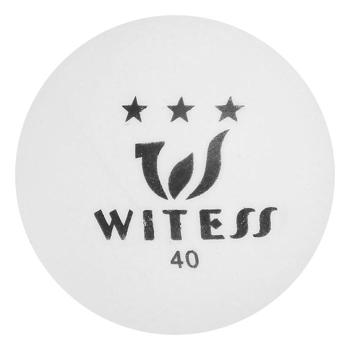 Мяч для настольного тенниса, 3 звезды, МИКС