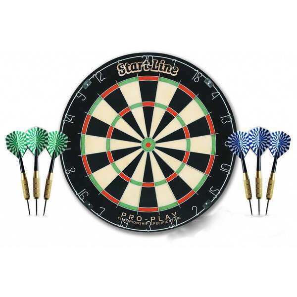 Комплект для игры в дартс StartLine Play PRO-Play (BL-1818B)