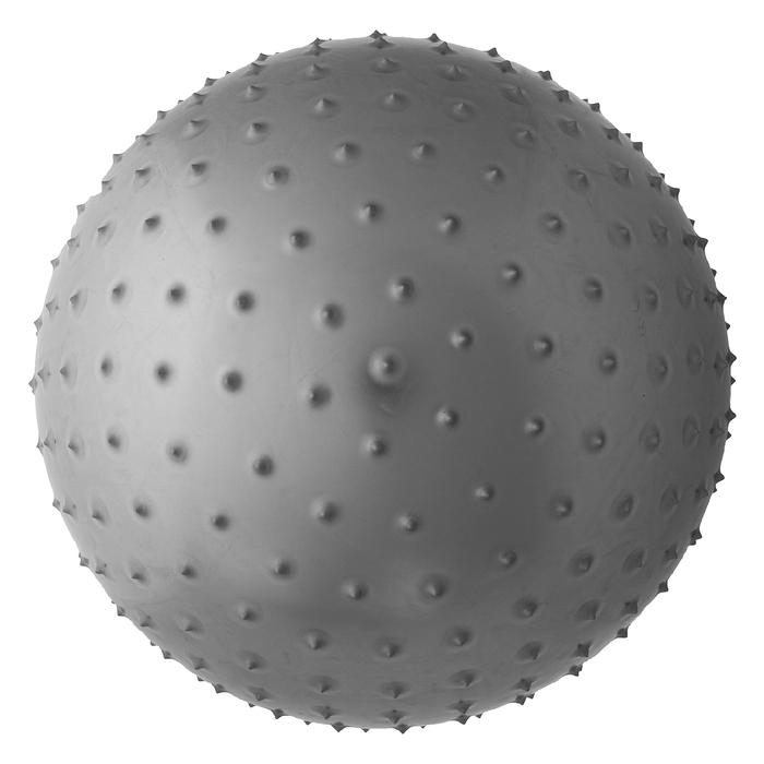 Мяч гимнастический массажный d=55см, 600 г, цвета МИКС