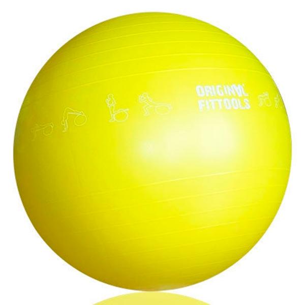 Гимнастический мяч 65 см Original FitTools FT-GBPRO-65