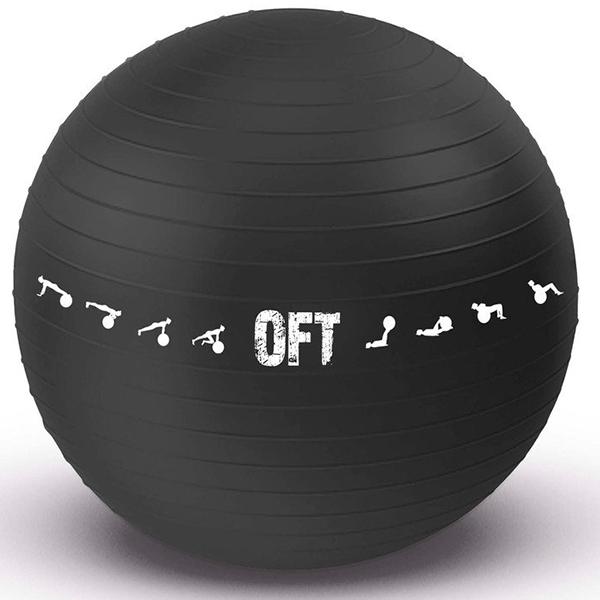 Гимнастический мяч Original FitTools FT-GBPRO-75BK