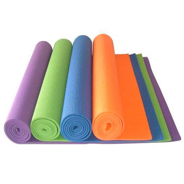 Коврики для йоги с чехлом PVC