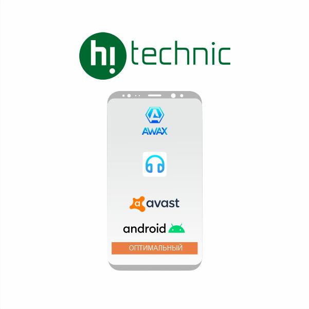 """Пакет """"Оптимальный"""" Android + Avast + Awax + Nur Music"""