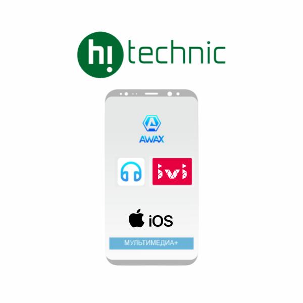 "Пакет ""Мультимедиа +"" iOS + Awax + Nur Music + Ivi"
