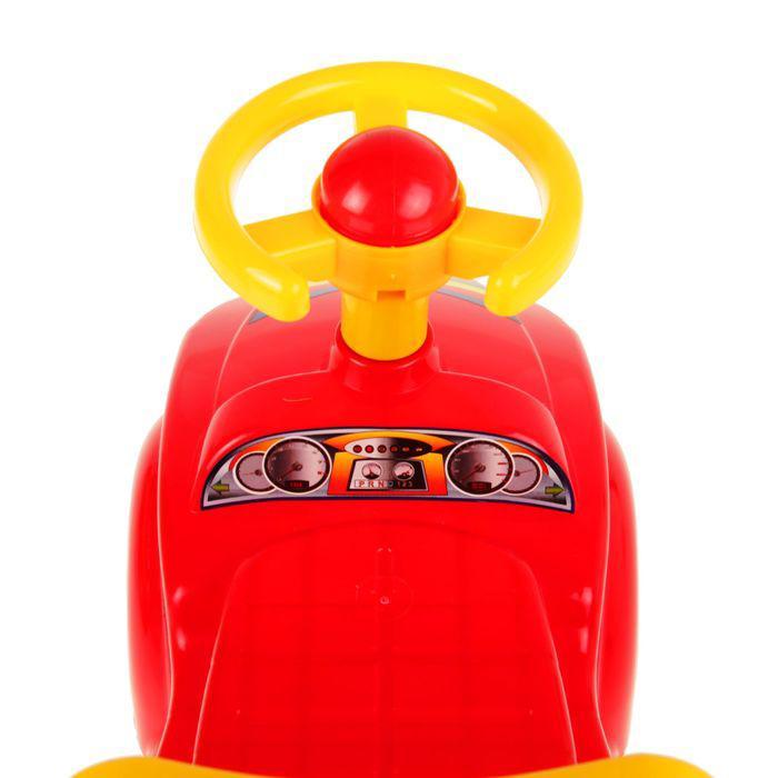 Игрушка «Автомобиль для прогулок» - ТехноК, с гудком-пищалкой, МИКС