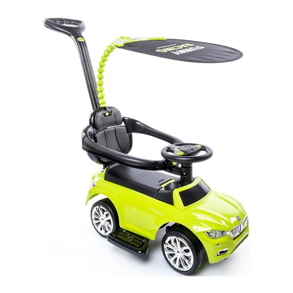 Машина-каталка Happy Baby Jeepsy green