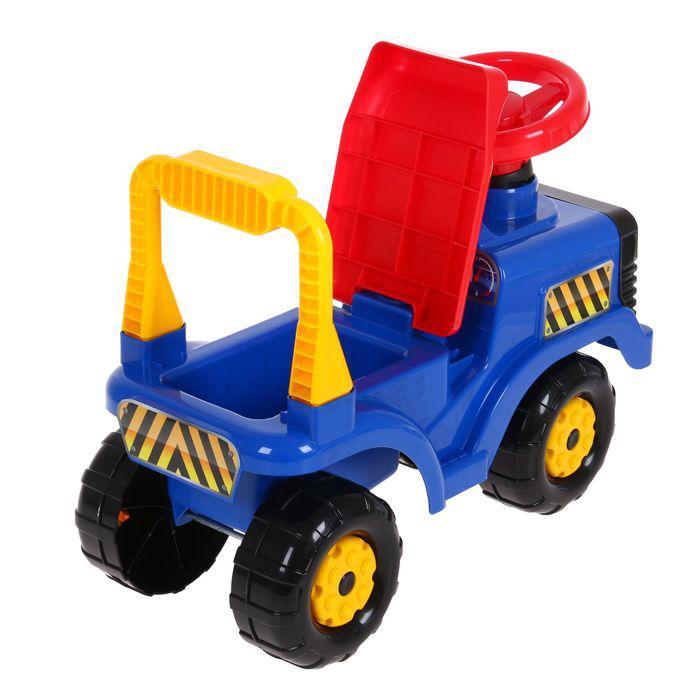 Машинка детская «Трактор», цвет синий