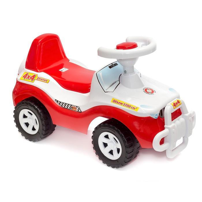 Толокар «Машина» красный, до 30 кг