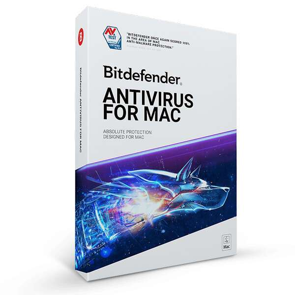 Электронный ключ Bitdefender Antivirus for Mac на 24 месяца, 1 устройство