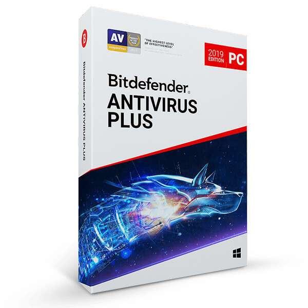 Электронный ключ Bitdefender Antivirus Plus на 12 месяцев, 1 устройство