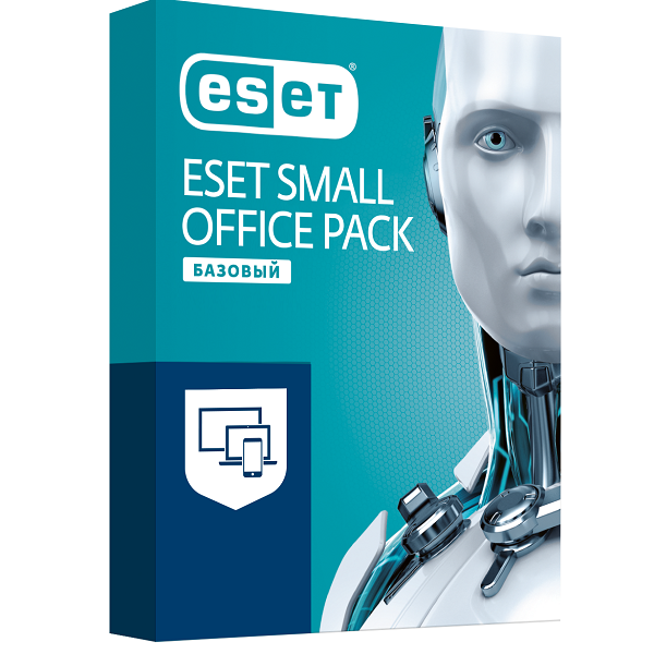 Антивирус Eset Small Office Pack Базовый на 12 м, 3 (win, os x, lin, and), ESD
