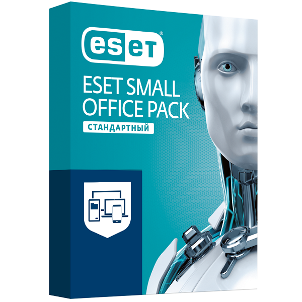 Антивирус Eset Small Office Pack Стандартный на 12 м, 3 (win, os x, lin, and), ESD