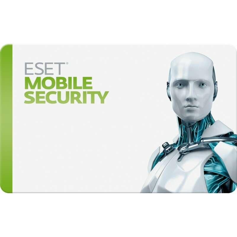Электронный ключ ESET NOD32 Mobile Security на 12 месяцев, 3 устройства