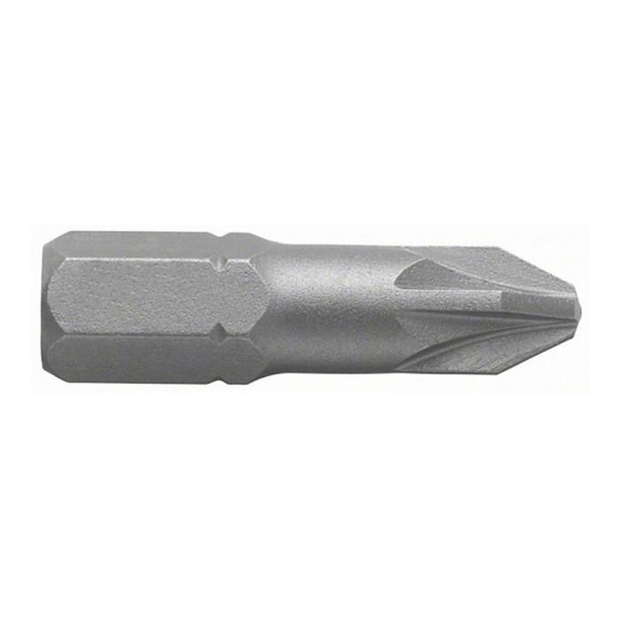 """Биты Bosch 2608522186, 25 шт., 25 мм, 1/4"""", PH2, крестовые, односторонние"""