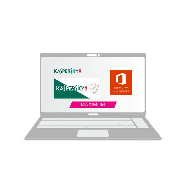 Пакет Максимум + Office Home and Student  + Kaspersky