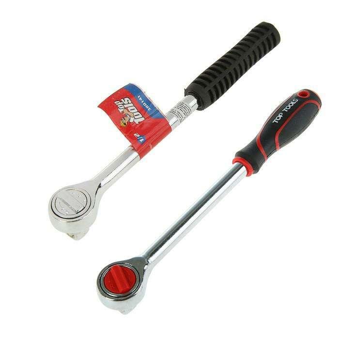 Ключ трещоточный Top Tools, 1/2'', 250 мм