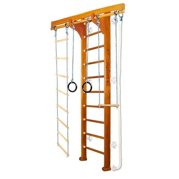 Домашний спортивный комплекс Kampfer Wooden Ladder Wall (№3 Классический Стандарт белый)