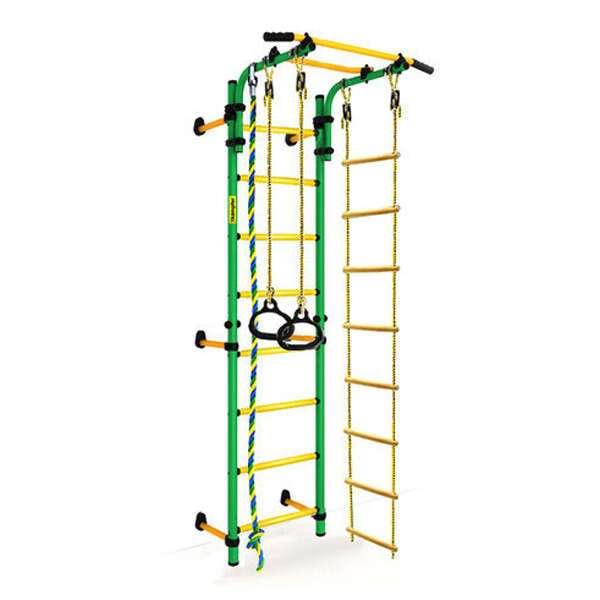 Детский спортивный комплекс Kampfer Strong kid Wall New (зеленый/желтый Стандарт)