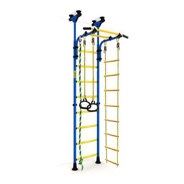 Детский спортивный комплекс Kampfer Strong kid Wall New (синий/желтый Стандарт)