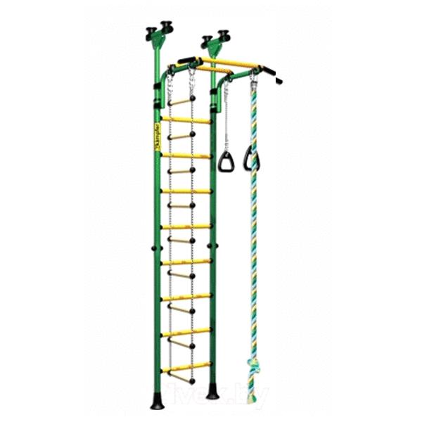 Детский спортивный комплекс ДСК Kampfer Strong kid Ceiling (зеленый/желтый)