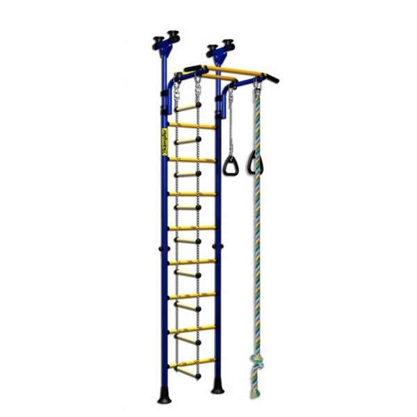 Детский спортивный комплекс ДСК Kampfer Strong kid Ceiling (синий/желтый)
