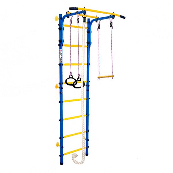Детский спортивный комплекс Midzumi Hoshi Kabe (синий/желтый)